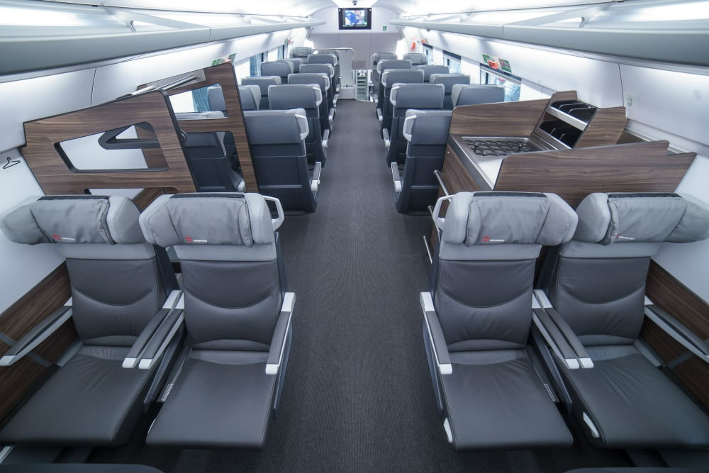Photo: Business class
