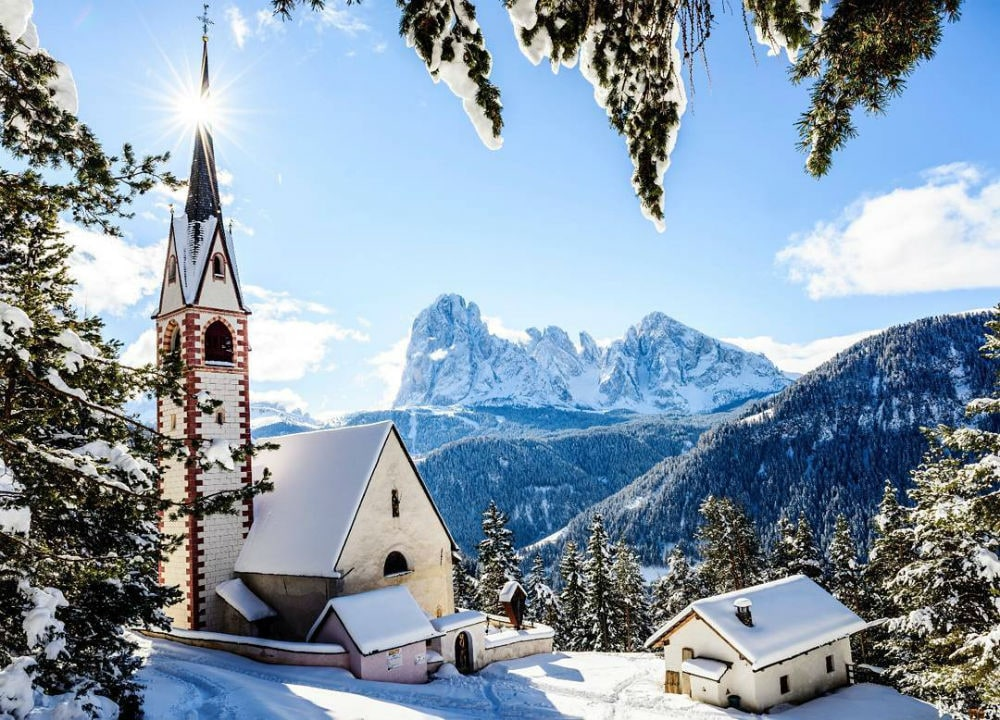 Photo: Val Gardena Ski Resort