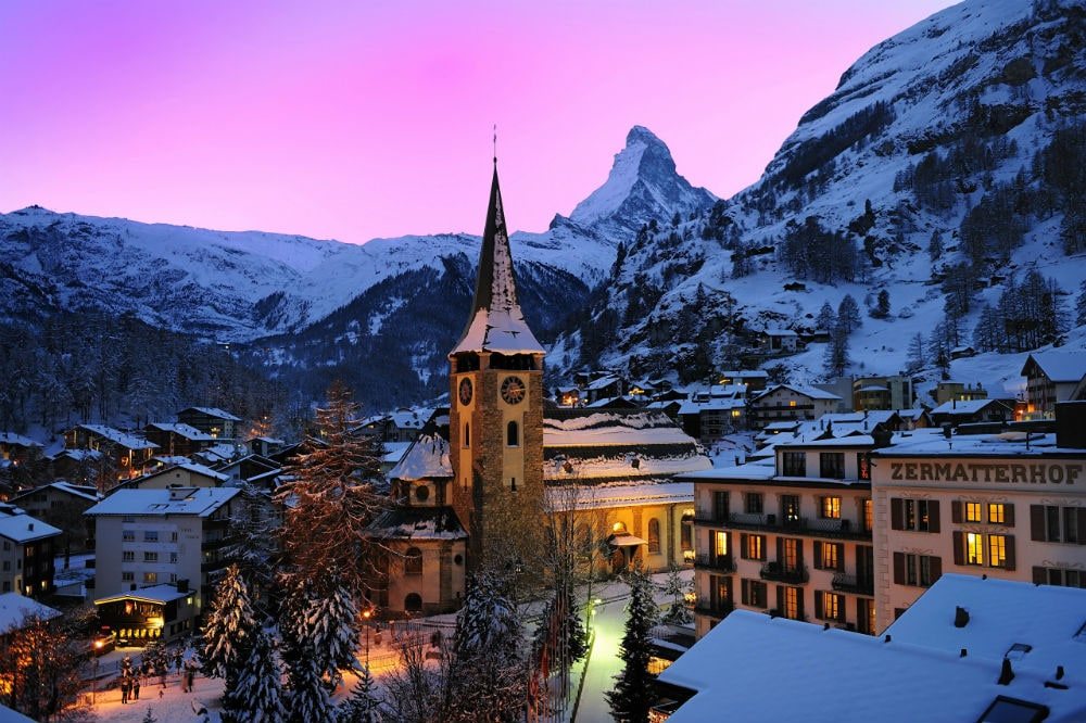 Photo: Ski Resort Zermatt