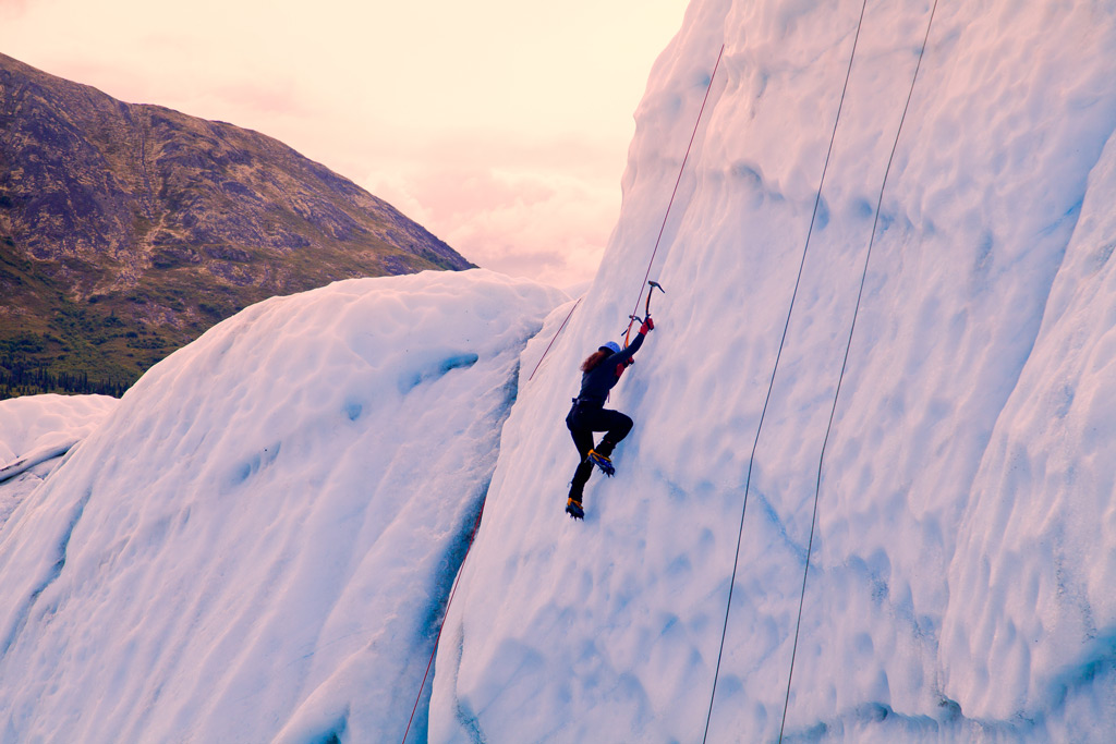 Photo: Ice Climing