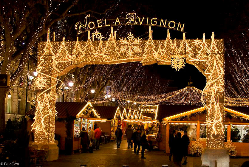 Photo: Christmas Market in Avignon
