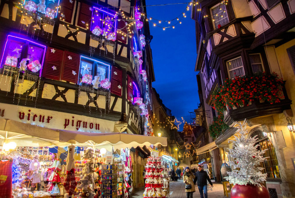 Photo: Christmas market in Colmar