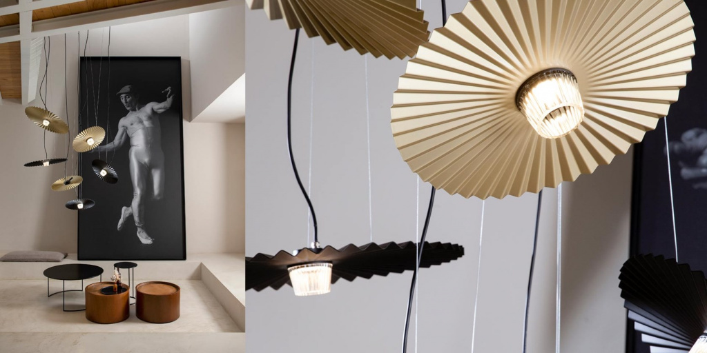 Lamps from the Gonzaga collection by Karman