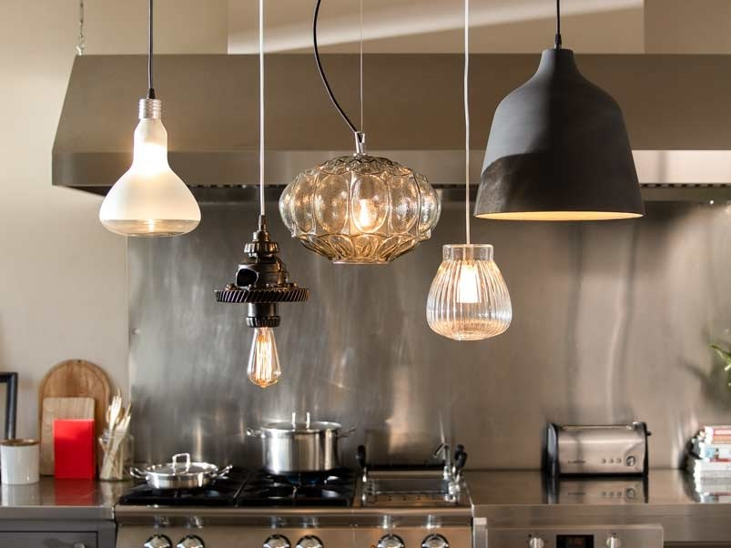 Luminaires from the Cluster collection by Karman