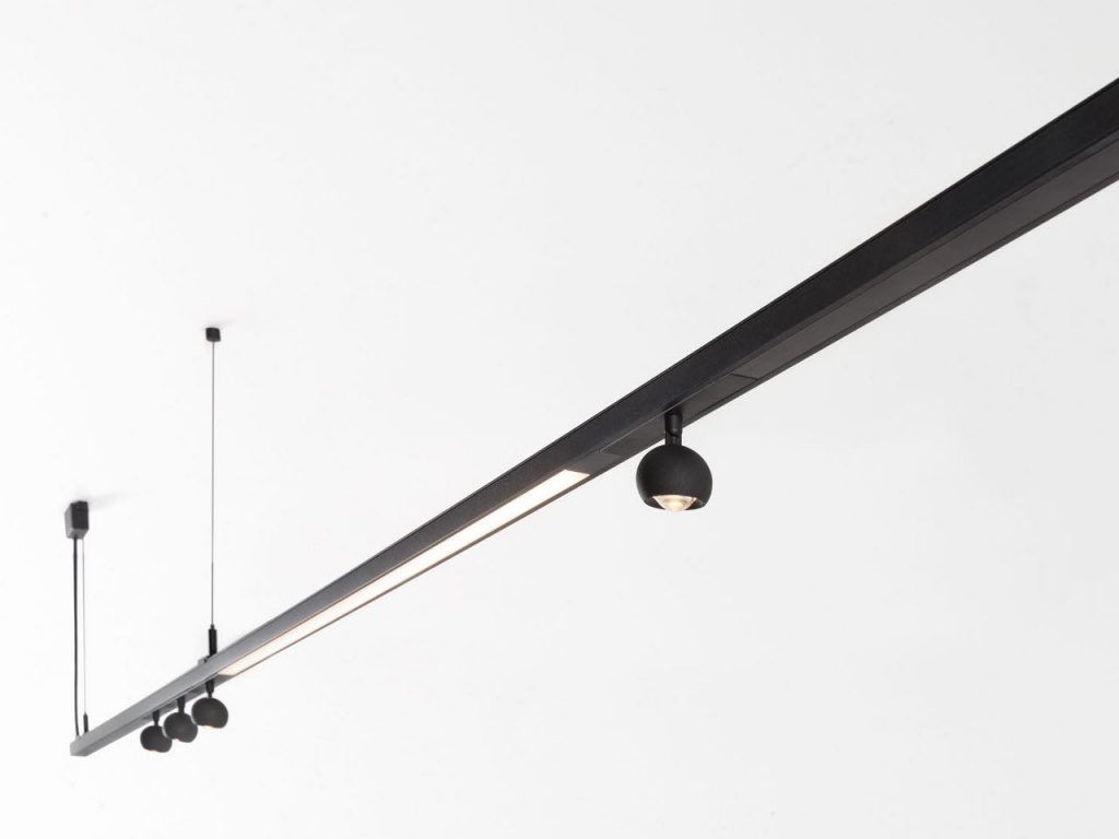 Track light from the Pista series by Modular Lighting Instruments