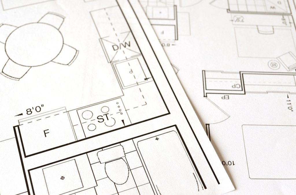 Architectural supervision in interior design: drawing