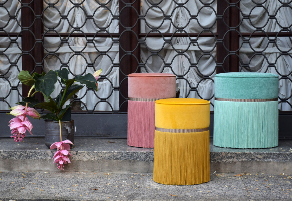Ottomans by Lorenza Bozolli became a real hit at Fuorisalone 2019. Source: fuorisalone.it
