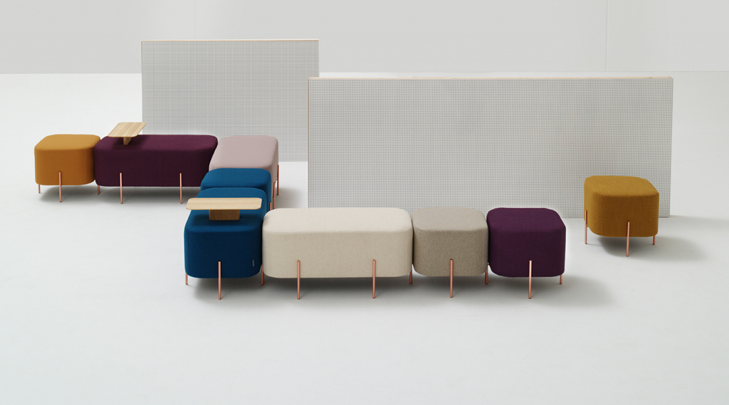 The Elephant ottoman collection from the Nadadora design studio.  Source: archiscene.net