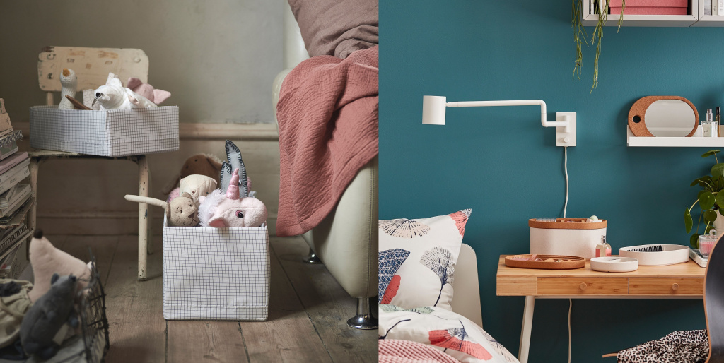 Compact storage systems from Ikea