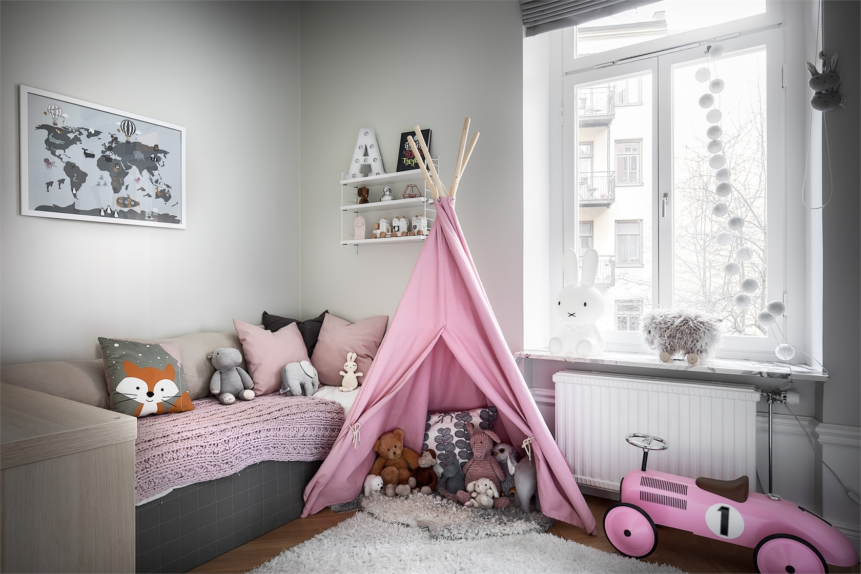 Not toys: decorating a children's room