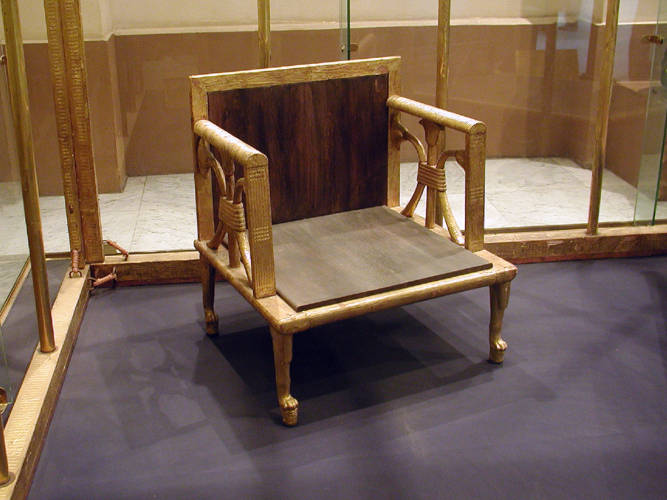 What was the furniture made of 5000 years ago?