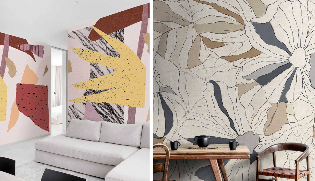 Wallpaper from the Ambiente 2020 collection of the Italian factory WallPepper.  Source: wallpepper.it