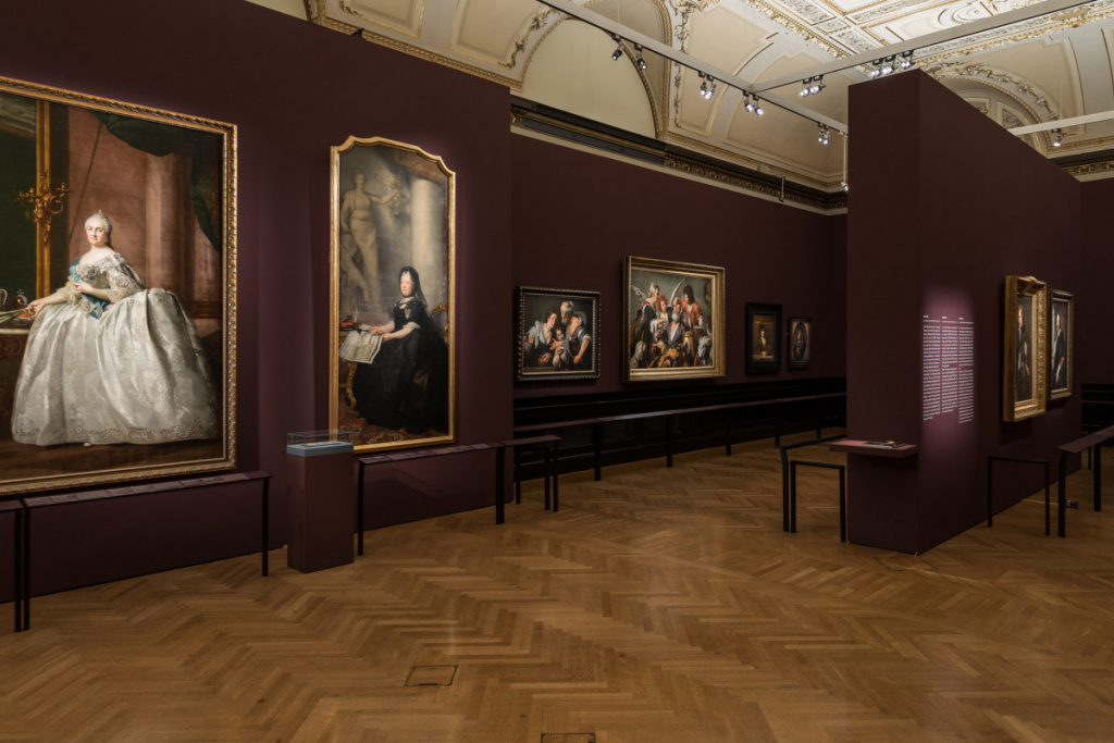 Exhibition of old masters from the Hermitage at the Vienna Museum of Art History.  Source: artchive.ru
